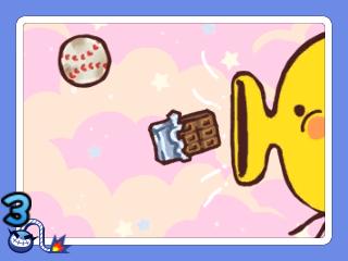 Warioware Gold 3DS screenshot - Putting chocolate in an ear?