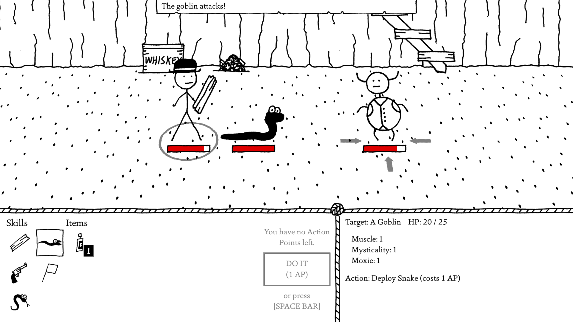 Hands-on with West of Loathing   Articles   Pocket Gamer