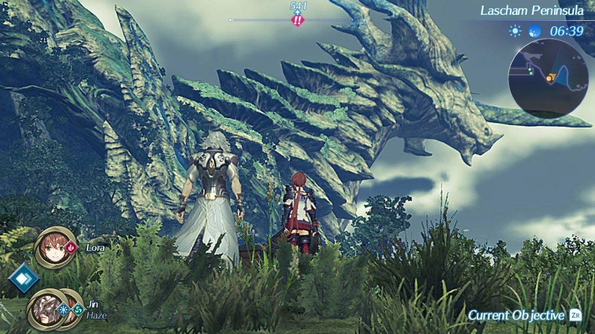 Xenoblade Chronicles 2: Torna - The Golden Country Screenshot Titan