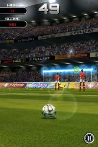 Flick Soccer! iPhone, thumbnail 1