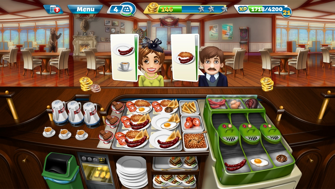 Cooking Fever iPhone, thumbnail 1