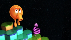 Q*bert: Rebooted - remastering an arcade classic for NVIDIA SHIELD