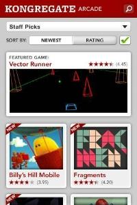 Kongregate Arcade Android, thumbnail 1