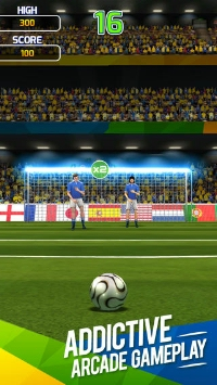 Flick Soccer Brazil Android, thumbnail 1