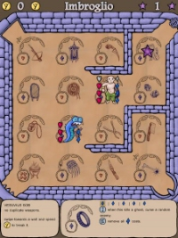 Michael Brough's card game/roguelike hybrid Imbroglio releases on iOS on May 19th