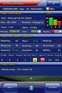 Championship Manager 2010 iPhone, thumbnail 1
