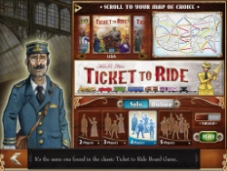 Take to the rails with us tomorrow when we stream Ticket to Ride live on Twitch