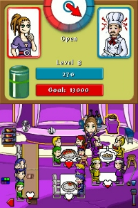 Diner Dash DS, thumbnail 1
