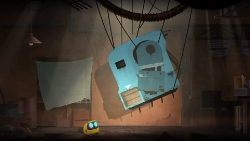 Abi is a cute colorful adventure/puzzler following a robot looking for his human owner