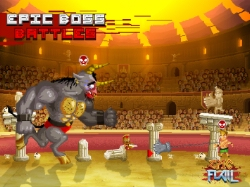 Epic Flail brings hectic high-flying gladiatorial battles to iOS and Android