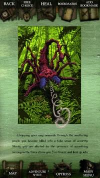 Fighting Fantasy: Bloodbones iPad, thumbnail 1