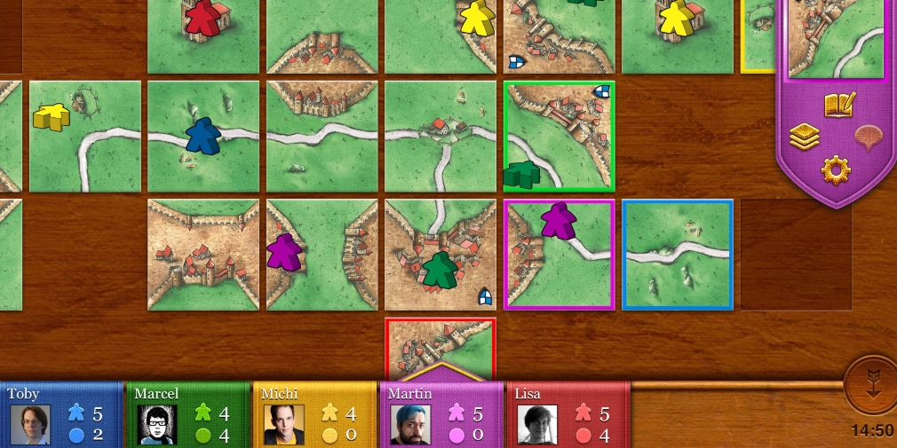 TheCodingMonkeys' iOS version of Carcassonne is set to be removed from the App Store on 1st March