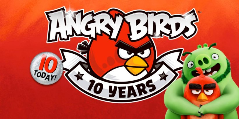 Happy 10th Birthday to Angry Birds
