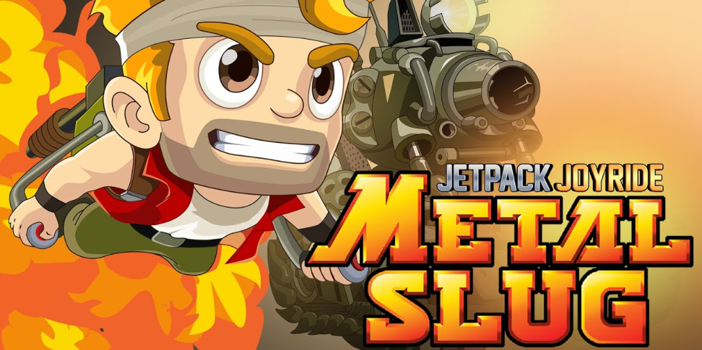 Jetpack Joyride launches limited-time Metal Slug crossover event