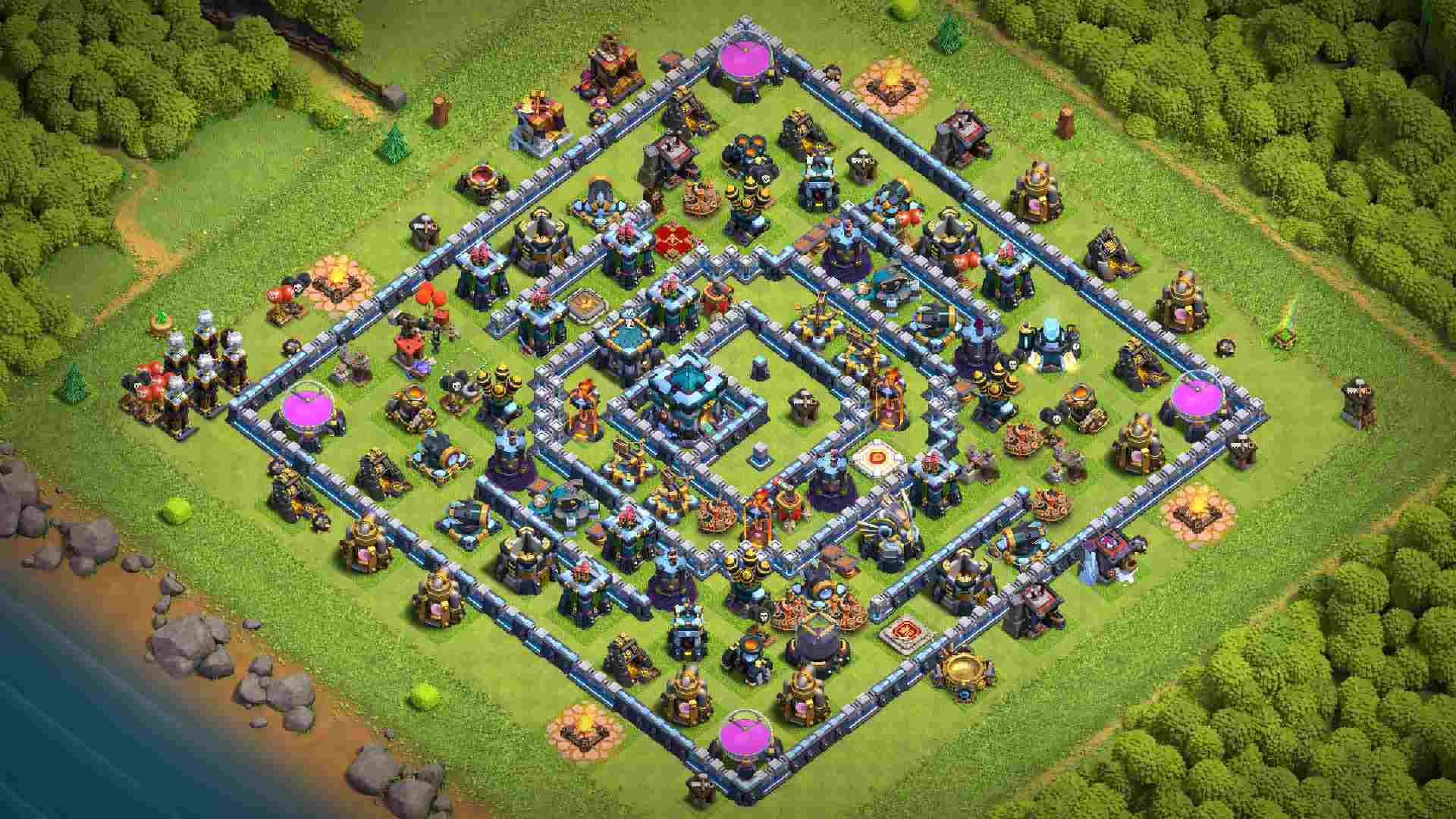 CoC best bases TH13