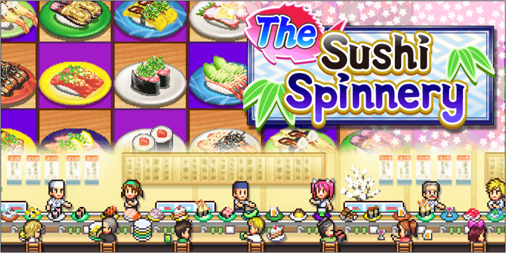 Kairosoft's Pool Slide Story, The Sushi Spinnery, Pocket Harvest all getting huge discounts