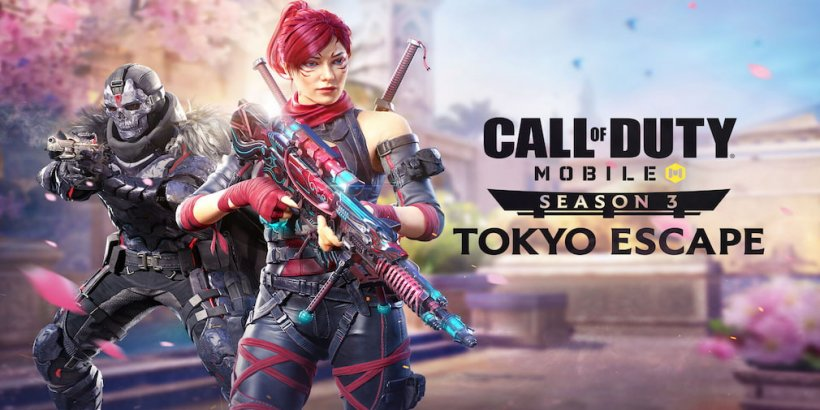 Call of Duty Mobile's third season, Tokyo Escape, will go live later this week