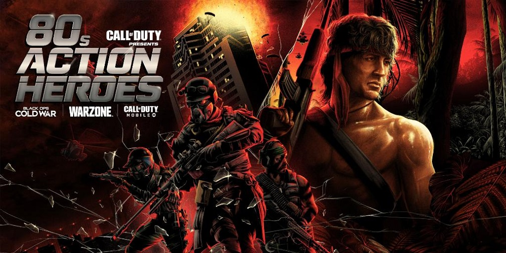 <p>Call of Duty: Mobile's 80s Action Heroes Forthcoming 20th May, includes playable Rambo and John McClane operators thumbnail