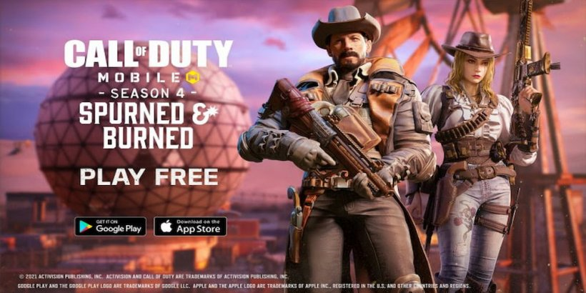 Call of Duty: Mobile's Season 4: Spurned and Burned to go live on May 26th