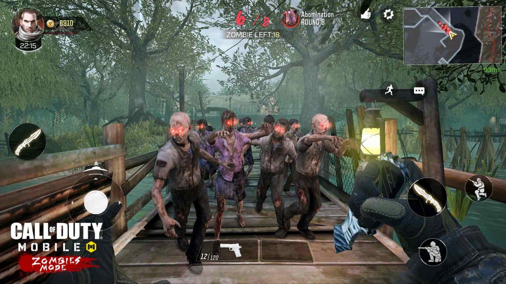 CoD Mobile Zombie mode