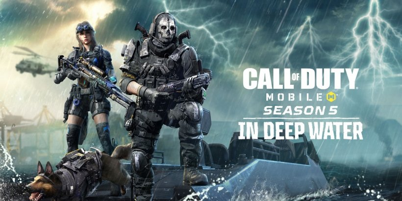 Call of Duty Mobile's next season, In Deep Water, launches next week