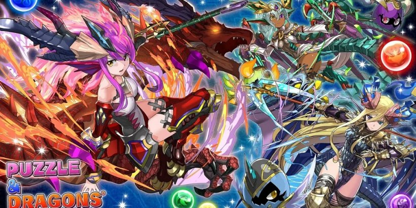 New Puzzle & Dragons update adds new fighters, new limited-time dungeons, and more
