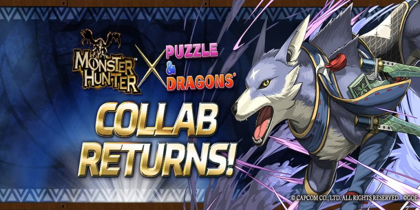 Puzzle & Dragons partners with Monster Hunter to bring in a limited-time collaboration with fearsome Dragons