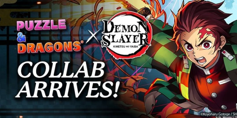 Puzzle & Dragons partners with Demon Slayer: Kimetsu no Yaiba the Movie for new limited-time events