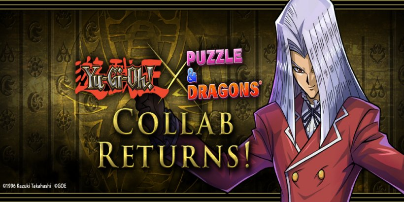 Puzzle & Dragons brings back the Yu-Gi-Oh! crossover until September 5th