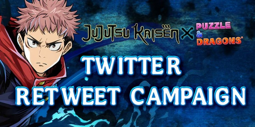 Puzzle & Dragons x JUJUTSU KAISEN collab brings special dungeons and a Twitter giveaway in latest update