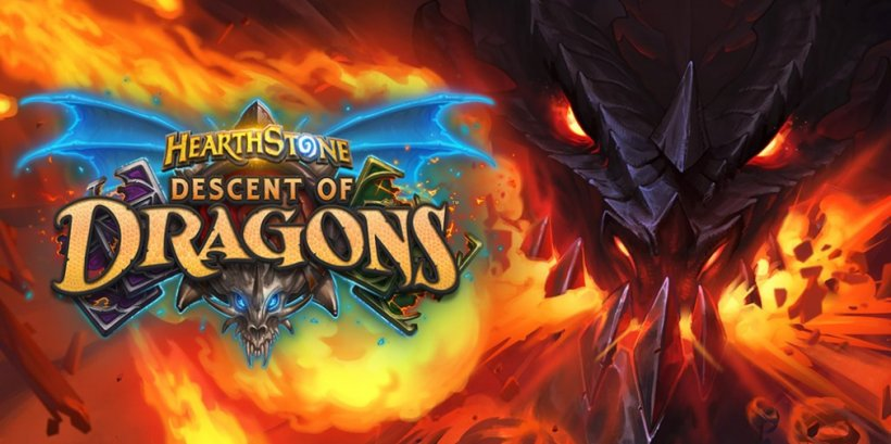 Hearthstone's 'Descent of Dragons' expansion is now live for iOS and Android