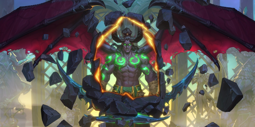 Hearthstone will introduce its first new class, the Demon Hunter, this April alongside another expansion, Ashes of Outland