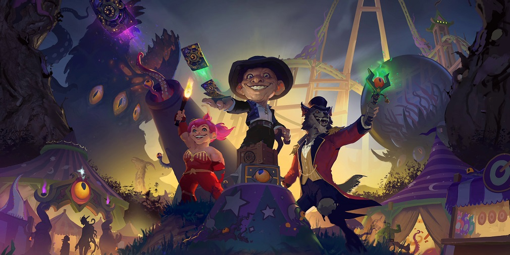 Hearthstone's newest expansion, Madness at the Darkmoon Faire, available 17th November