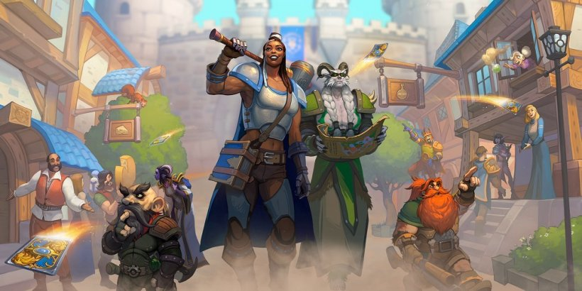 Hearthstone's new United in Stormwind expansion releases next month