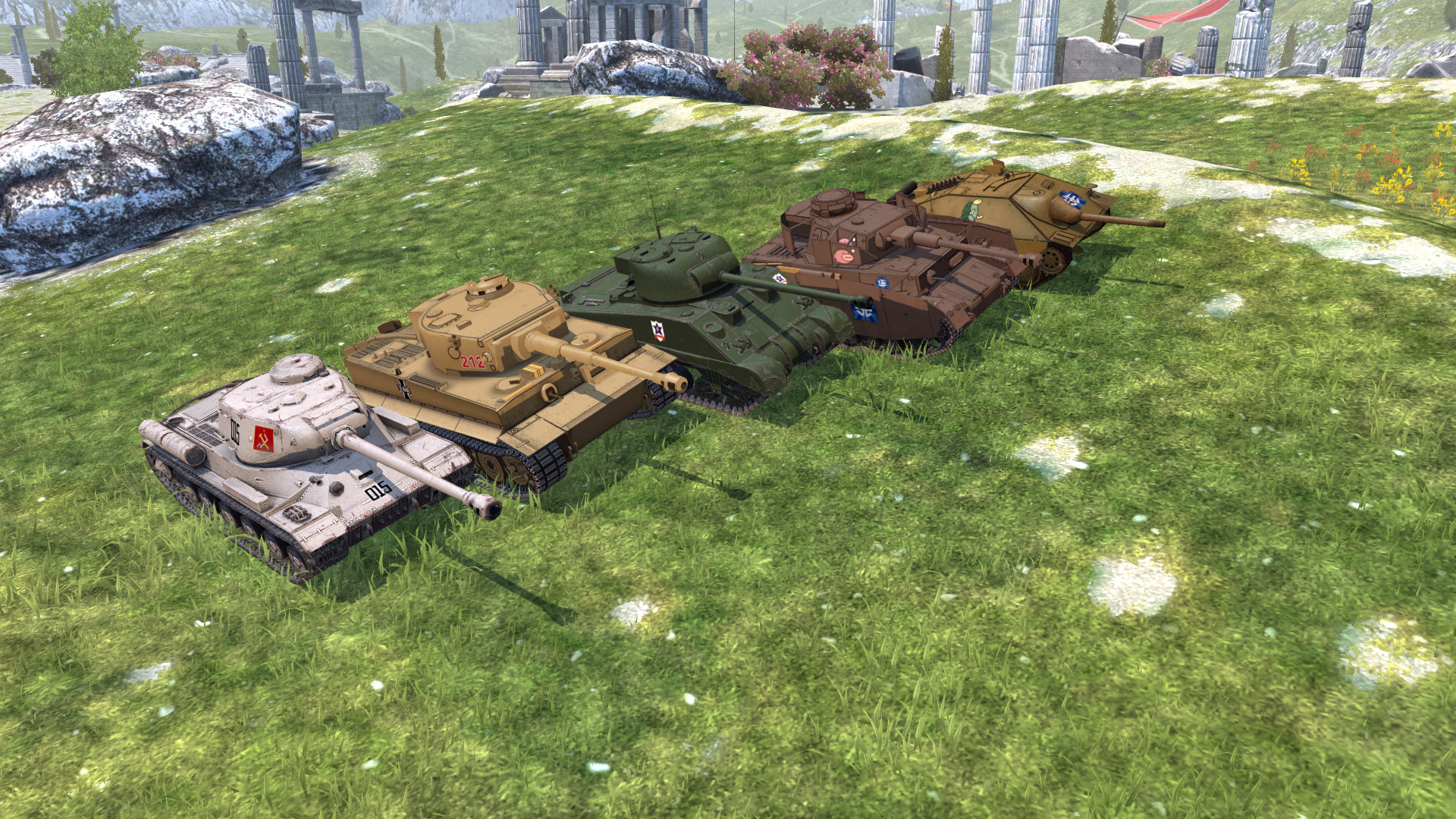 World of Tanks Blitz adds two Girls und Panzer vehicles whilst its first Battle Pass, Operation Onslaught, begins soon