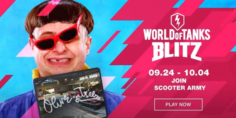 World of Tanks Blitz is giving players the chance to win eccentric artist Oliver Tree's digital autograph in limited-time event
