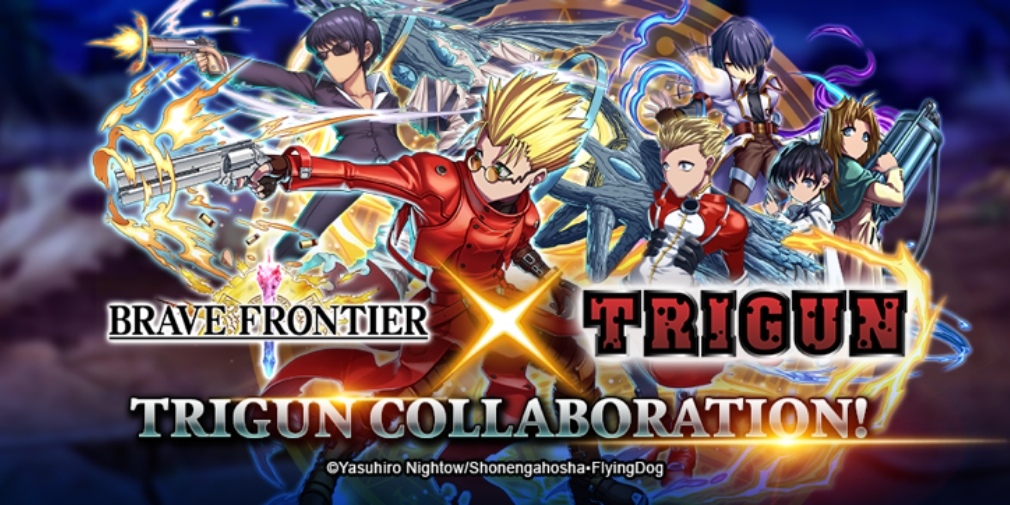 Brave Frontier adds TRIGUN content for a collaborative event that adds new Units, Dungeons, Raid Battles and more