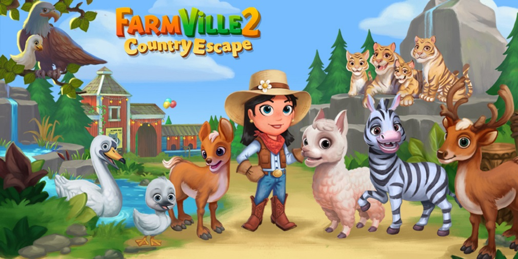 FarmVille 2: Country Escape's new update introduces the Animal Park
