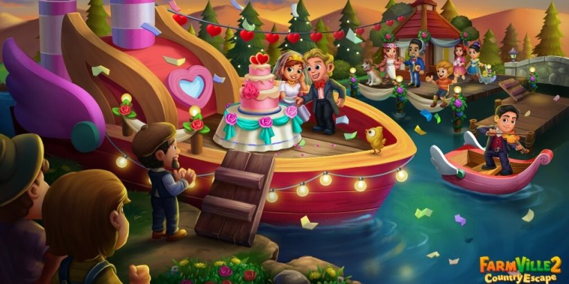 FarmVille 2: Country Escape's Valentine's Vows event is now underway with plenty of rewards on offer