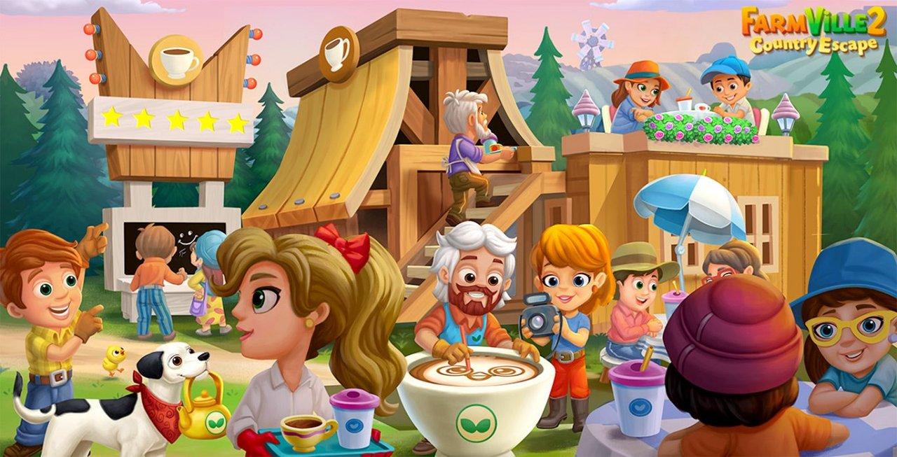 farmville 2 international coffee day