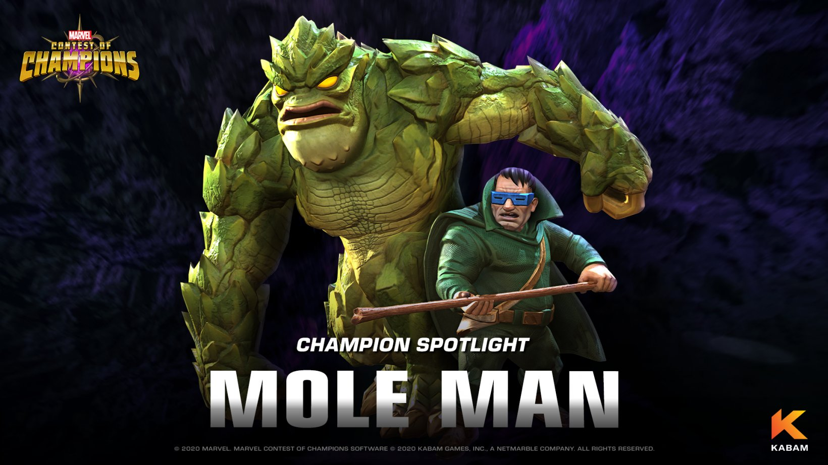 Marvel Contest of Champions' latest update introduces supervillain Mole Man to its ever-growing roster
