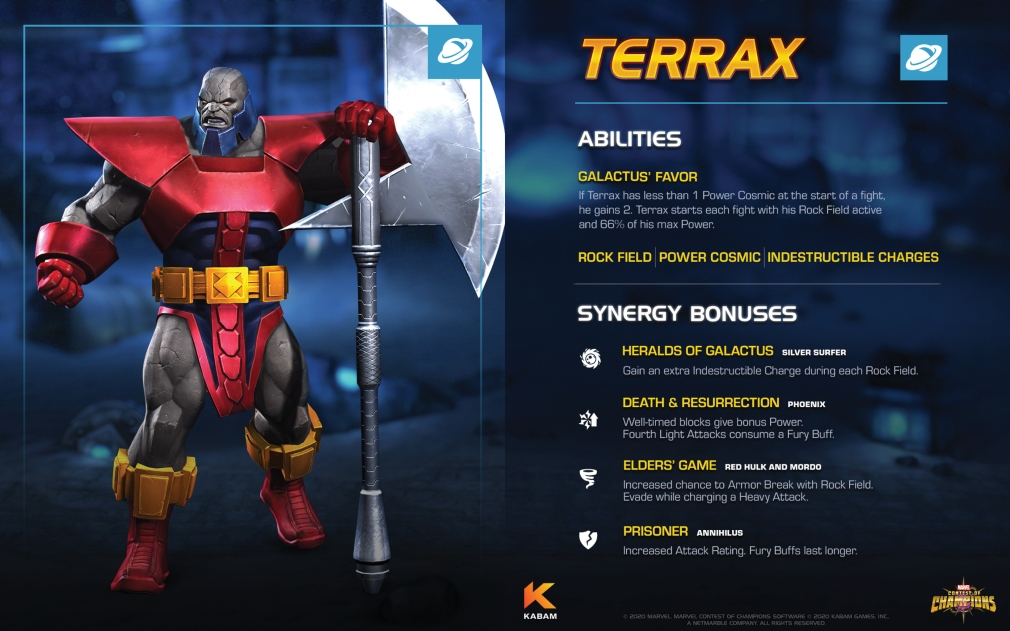 Marvel Contest of Champions gets Terrax