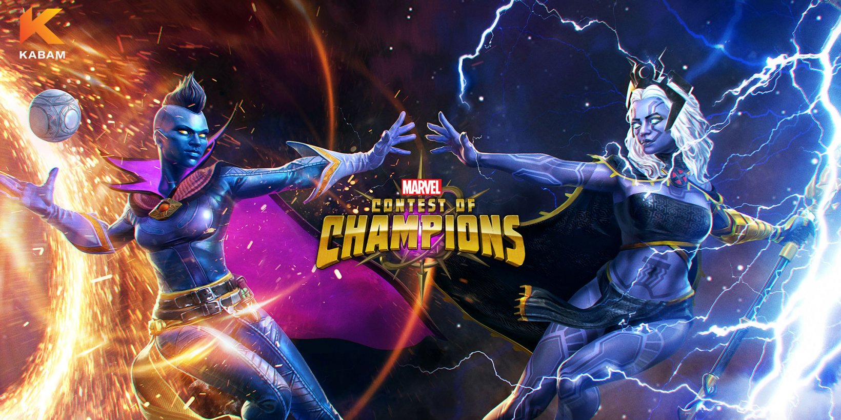 Marvel Contest of Champions introduces a Pyramid X variant of Storm in its latest update