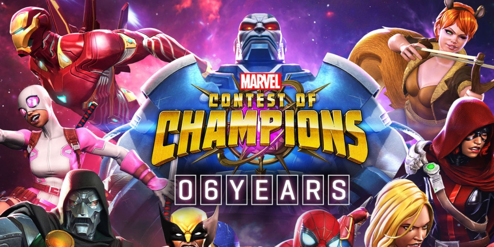 Marvel Contest of Champions is celebrating its sixth anniversary with the arrival of Spider-Ham and a retrospective video