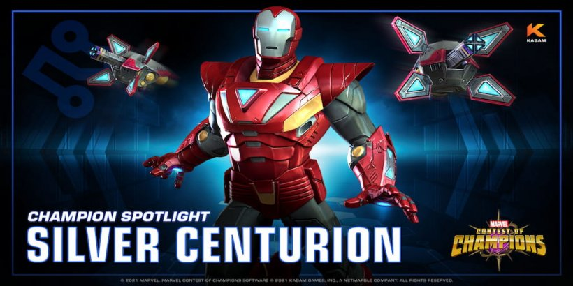 Silver Centurion heads into the battle realm of Marvel Contest of Champions