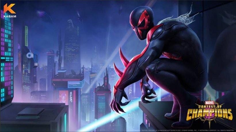 marvel contest of champions spider-man 2099