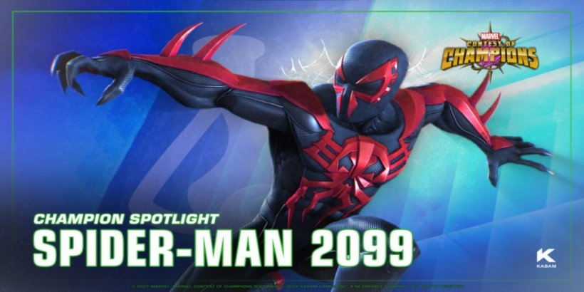 Spider-Man 2099 swings into Marvel Contest of Champions