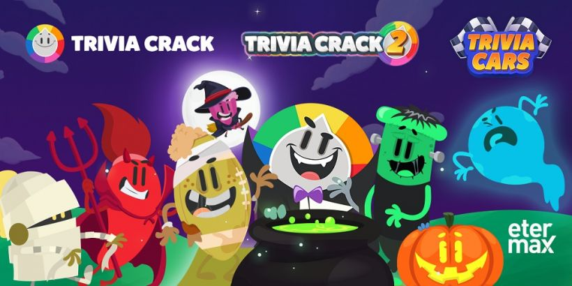 etermax launches spooky treats across Trivia Crack series for Halloween