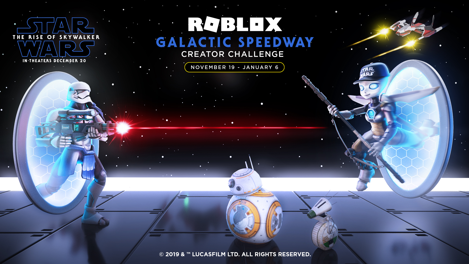 Roblox team up with Star Wars: The Rise of Skywalker for their latest Creator Challenge
