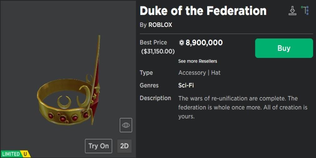 Roblox Duke